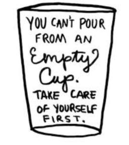 emptycuptakecareofyourselkfirst
