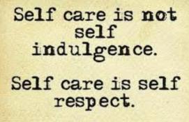 selfcareisnotselfindulgence
