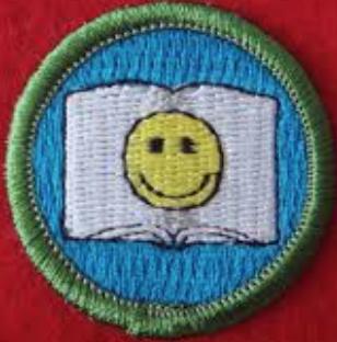 smiley merit badge